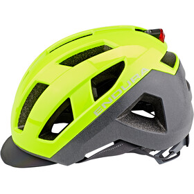 Endura Urban Luminite II Helmet Men neon yellow